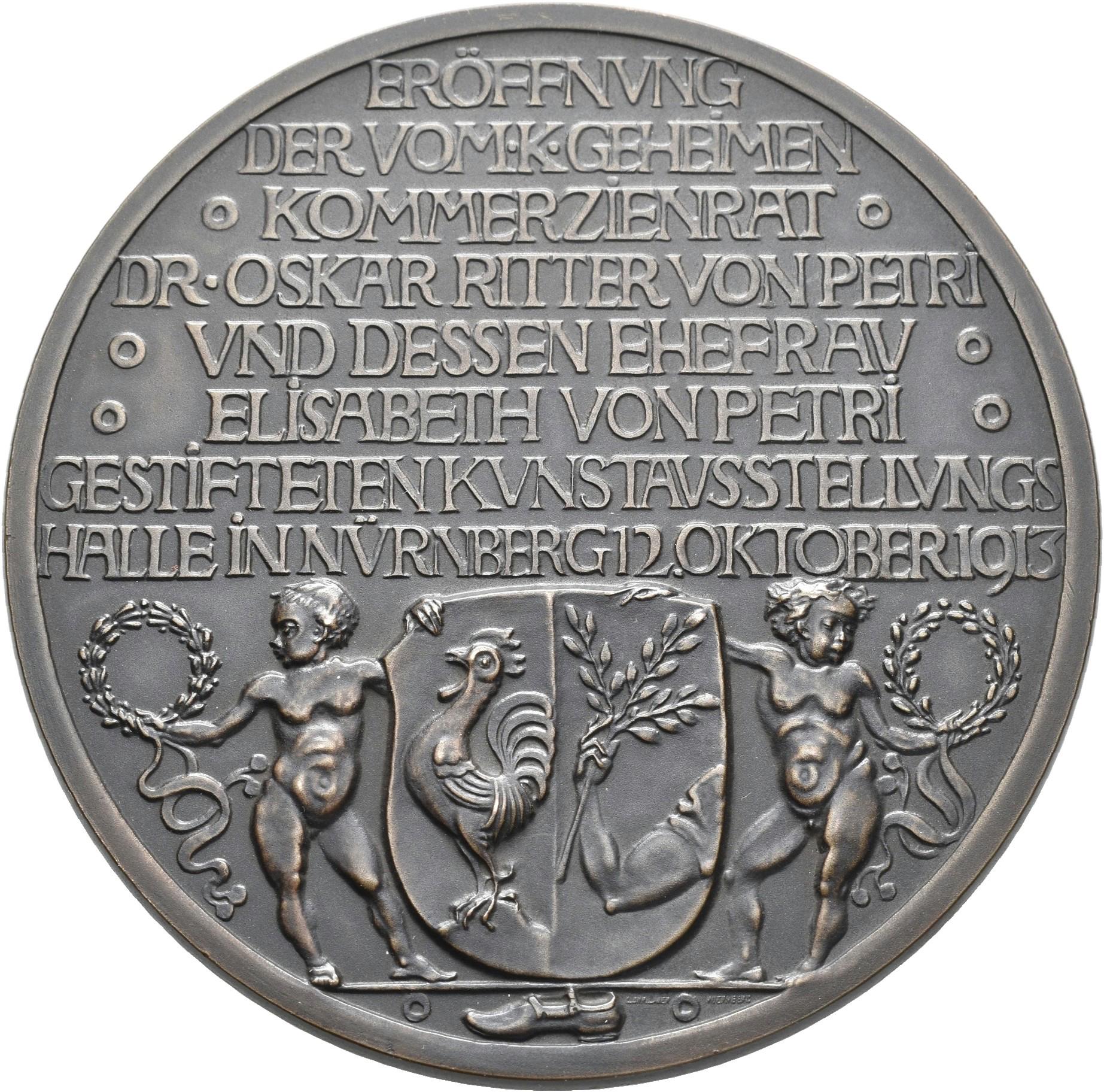 Lot 02419 - Medaillen Deutschland - Geographisch   Münzen  -  Auktionshaus Christoph Gärtner GmbH & Co. KG Sale #48 The Coins & The Picture Post Cards