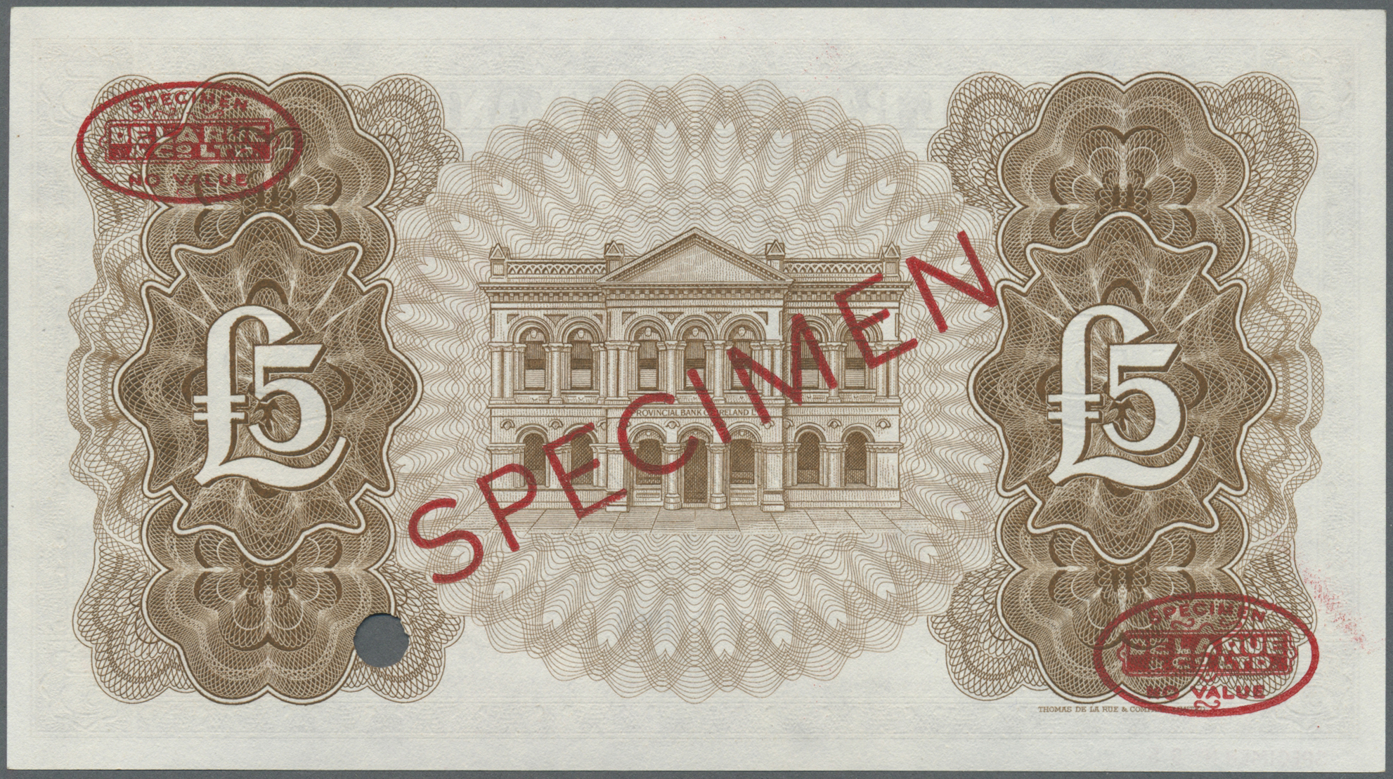 Lot 00567 - Northern Ireland / Nordirland | Banknoten  -  Auktionshaus Christoph Gärtner GmbH & Co. KG Sale #48 The Banknotes