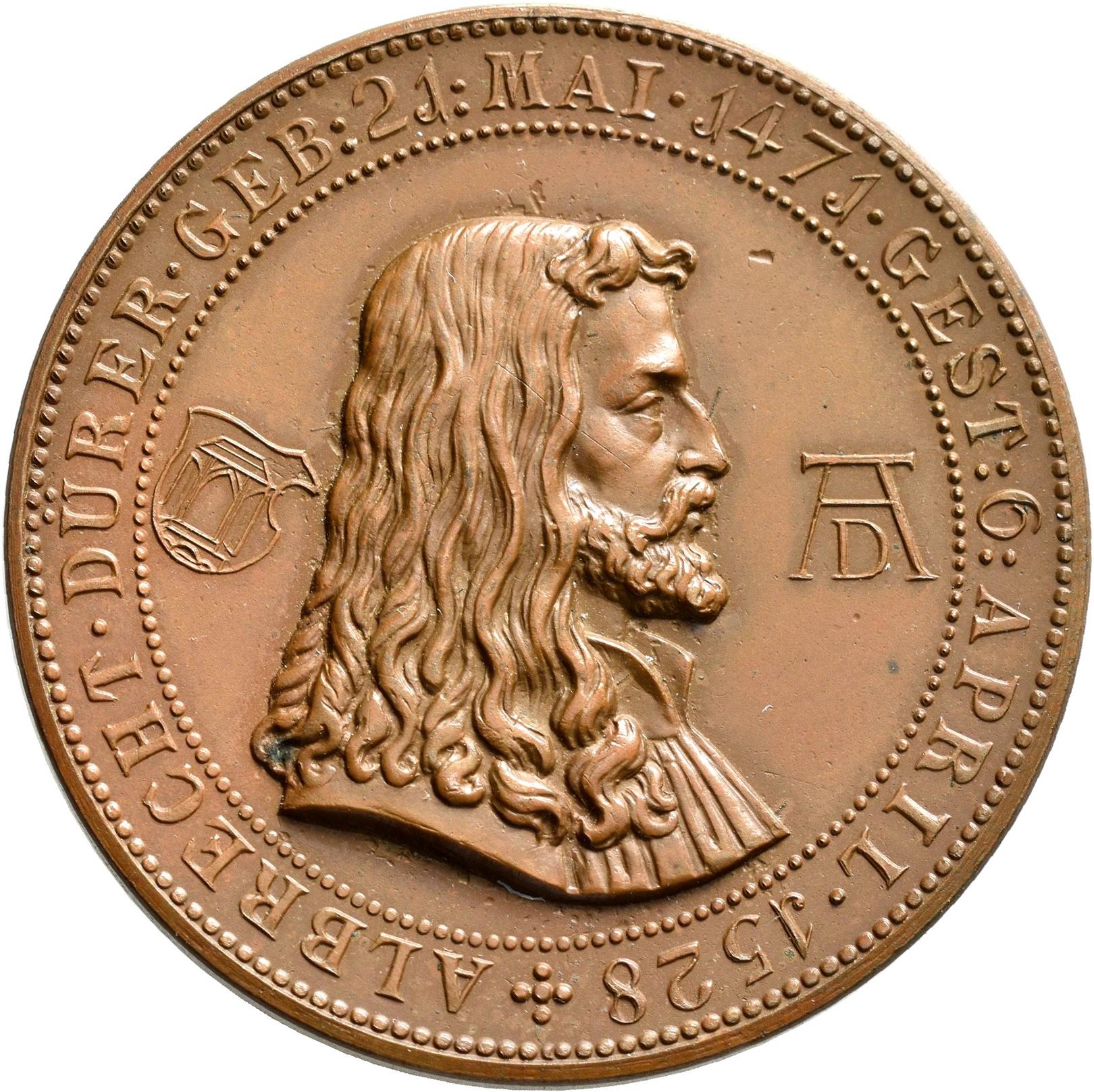 Lot 02413 - Medaillen Deutschland - Geographisch | Münzen  -  Auktionshaus Christoph Gärtner GmbH & Co. KG Sale #48 The Coins & The Picture Post Cards