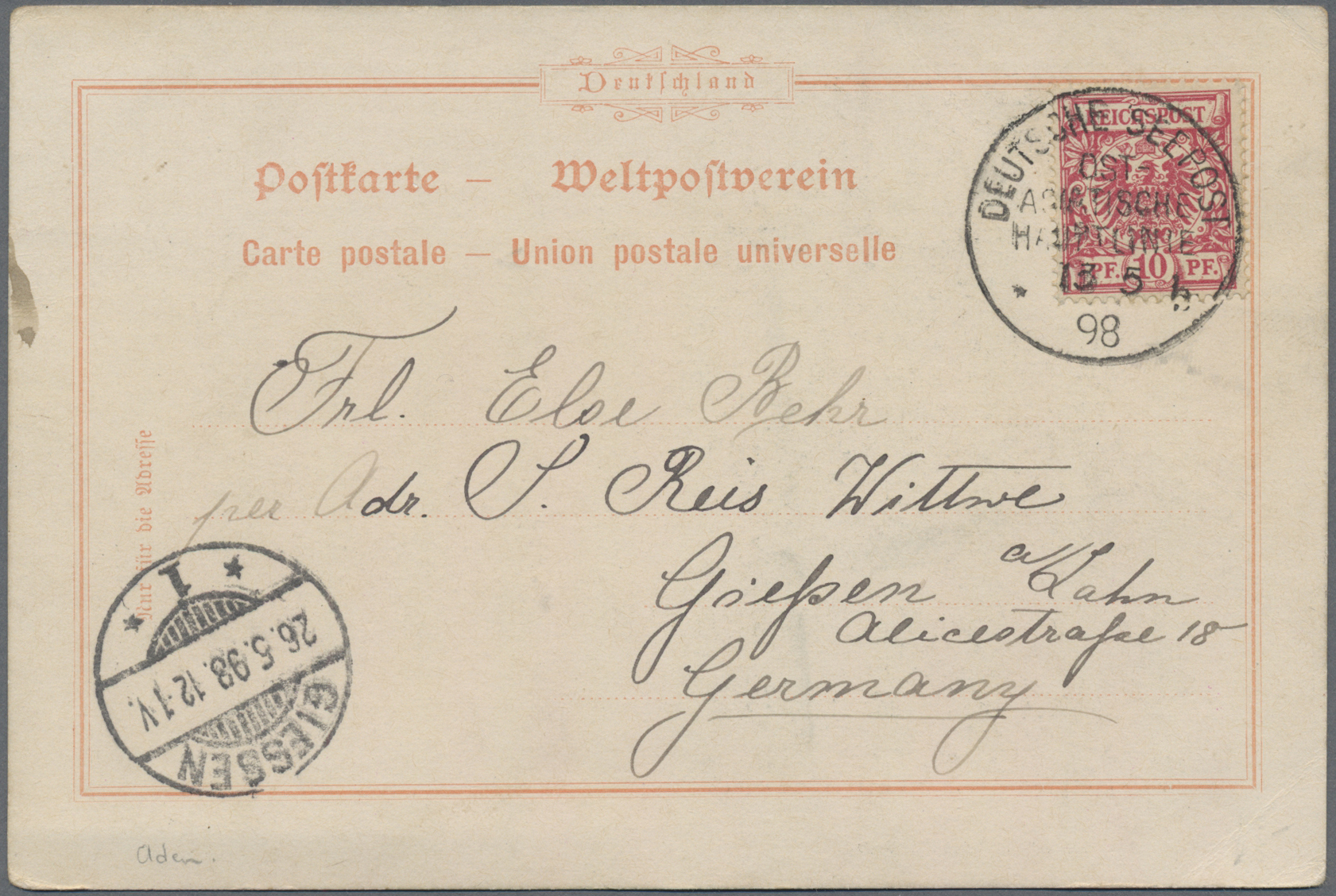 Lot 02002 - aden  -  Auktionshaus Christoph Gärtner GmbH & Co. KG 51th Auction - Day 2
