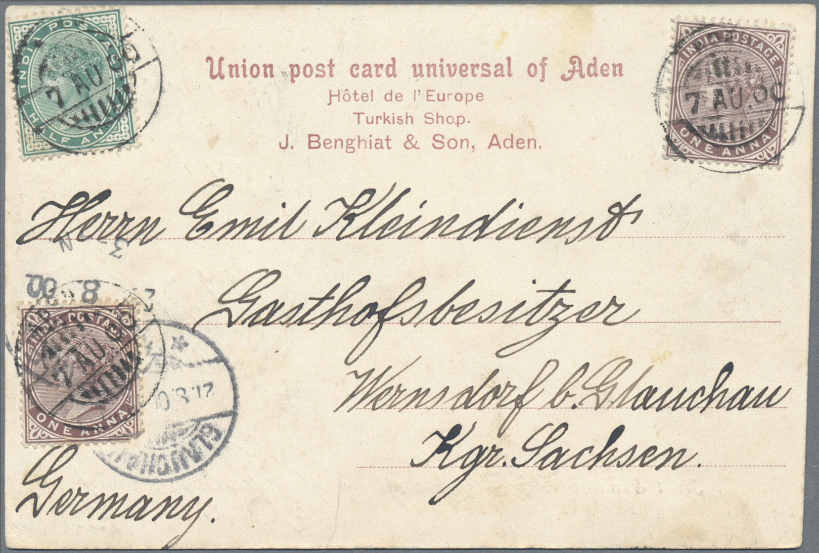 Lot 09000 - aden  -  Auktionshaus Christoph Gärtner GmbH & Co. KG 51th Auction - Day 4