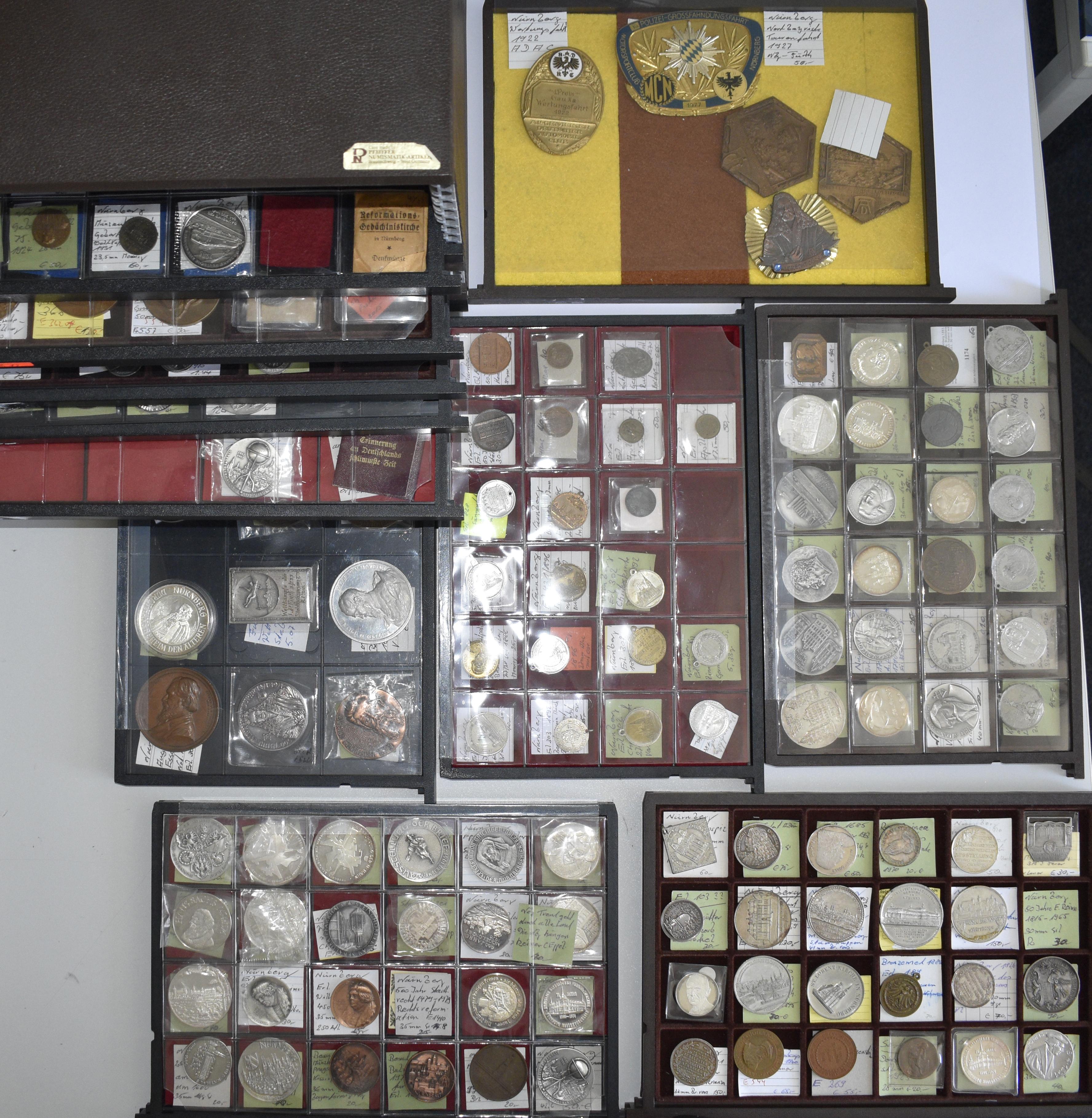 Lot 02844 - Medaillen Deutschland | Münzen  -  Auktionshaus Christoph Gärtner GmbH & Co. KG Sale #48 The Coins & The Picture Post Cards