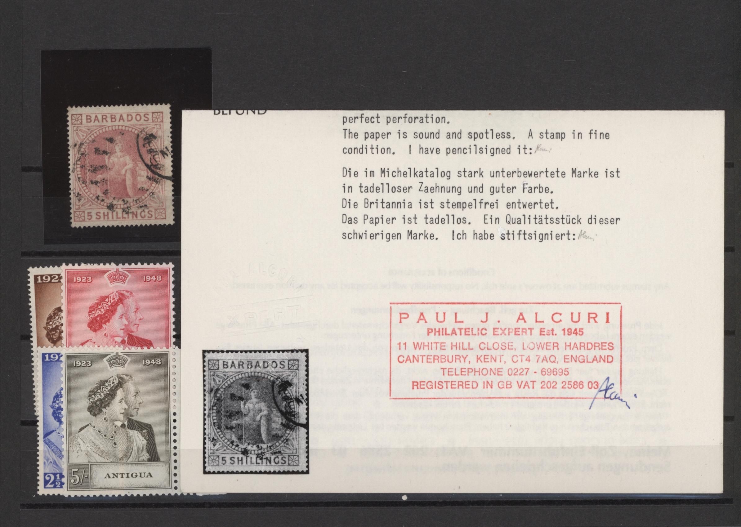 Lot 15096 - britische kolonien  -  Auktionshaus Christoph Gärtner GmbH & Co. KG Sale #48 collections Overseas  Airmail / Ship mail & Thematics
