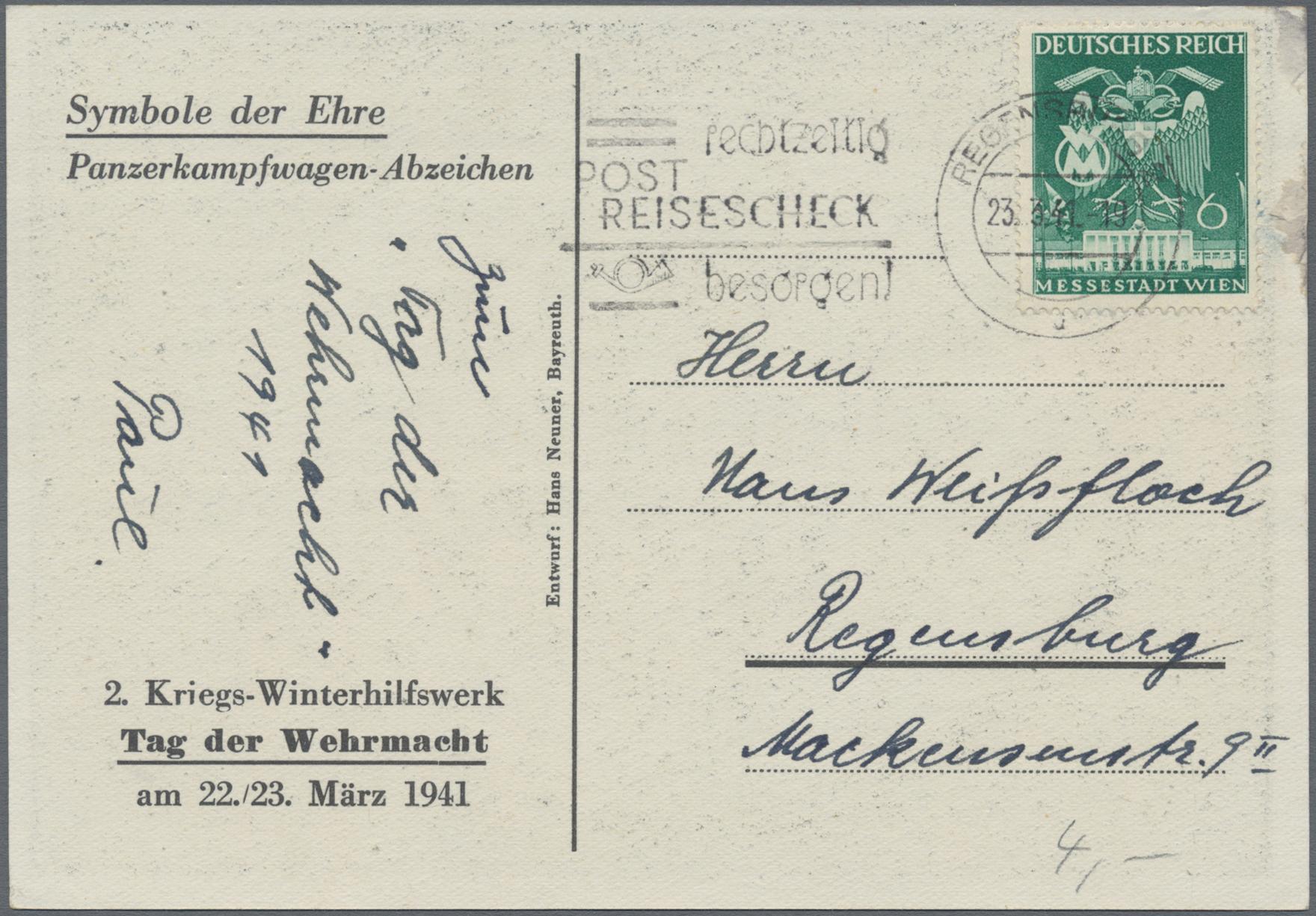 Lot 13805 - Ansichtskarten: Propaganda  -  Auktionshaus Christoph Gärtner GmbH & Co. KG 50th Auction Anniversary Auction - Day 4