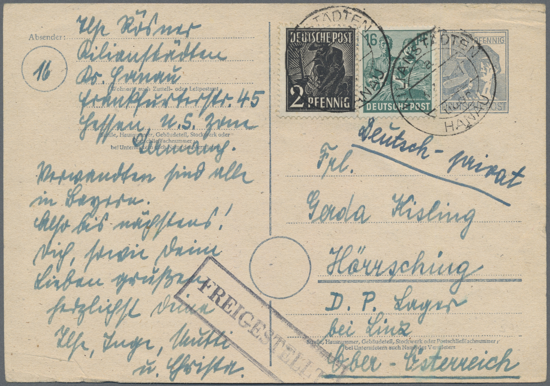 Lot 37183 - kriegsgefangenen-lagerpost  -  Auktionshaus Christoph Gärtner GmbH & Co. KG Sale #44 Collections Germany
