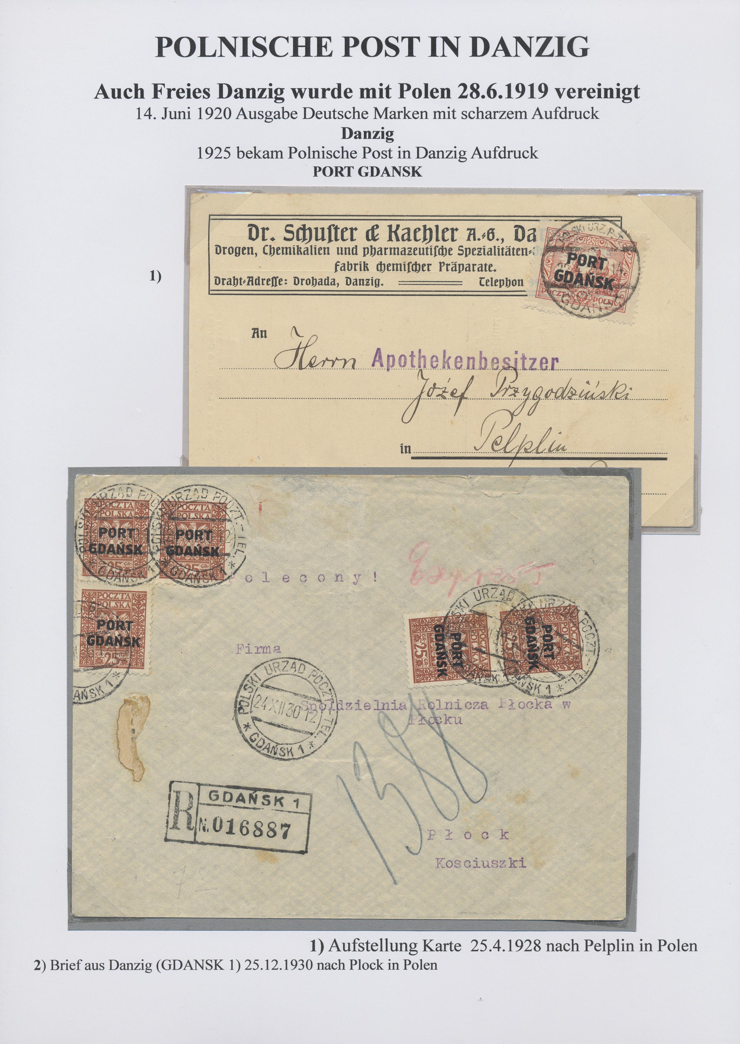 Stamp Auction Polen Auction 40 Europe Lot 27702
