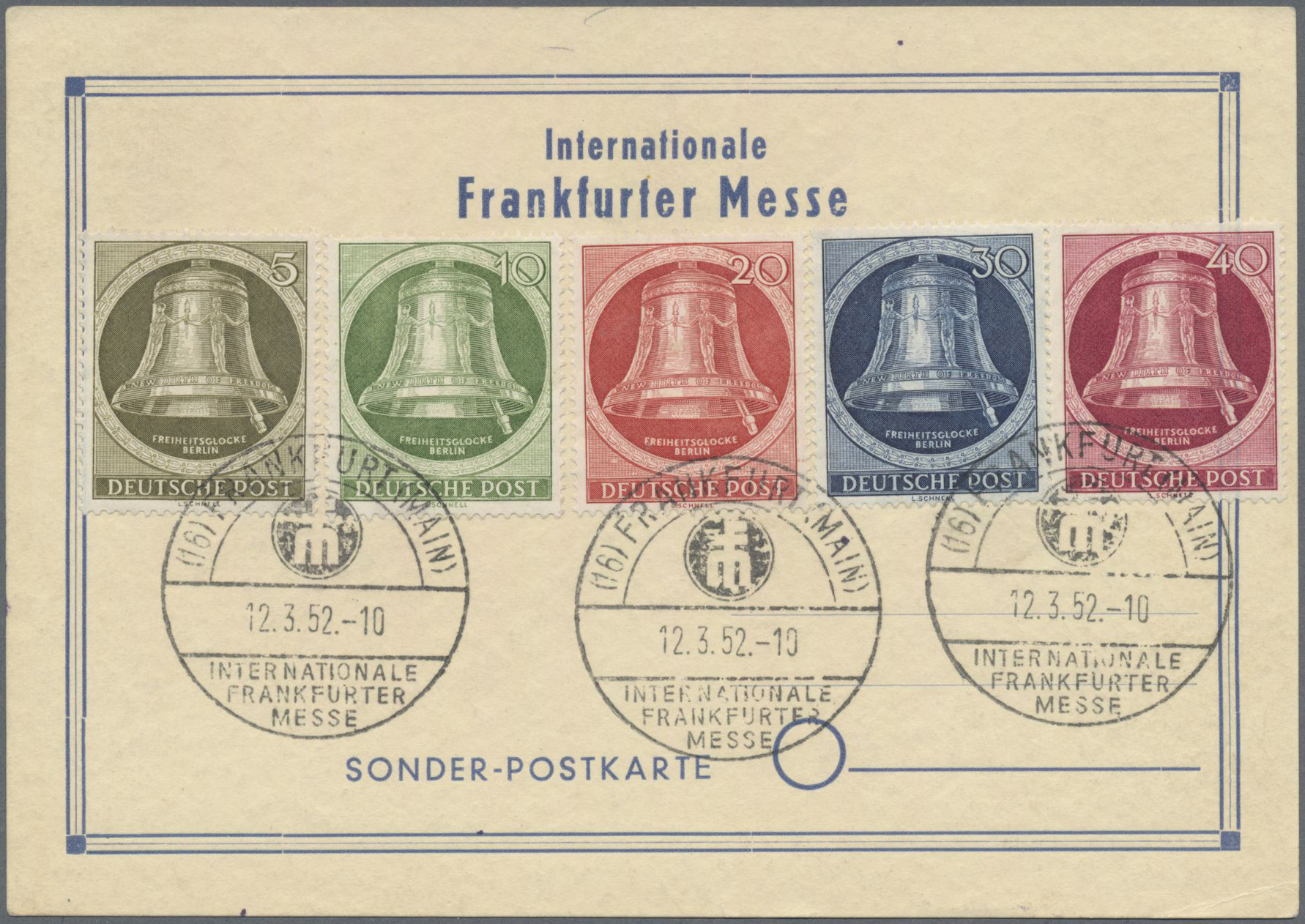 Lot 37218 - deutschland nach 1945  -  Auktionshaus Christoph Gärtner GmbH & Co. KG Sale #44 Collections Germany