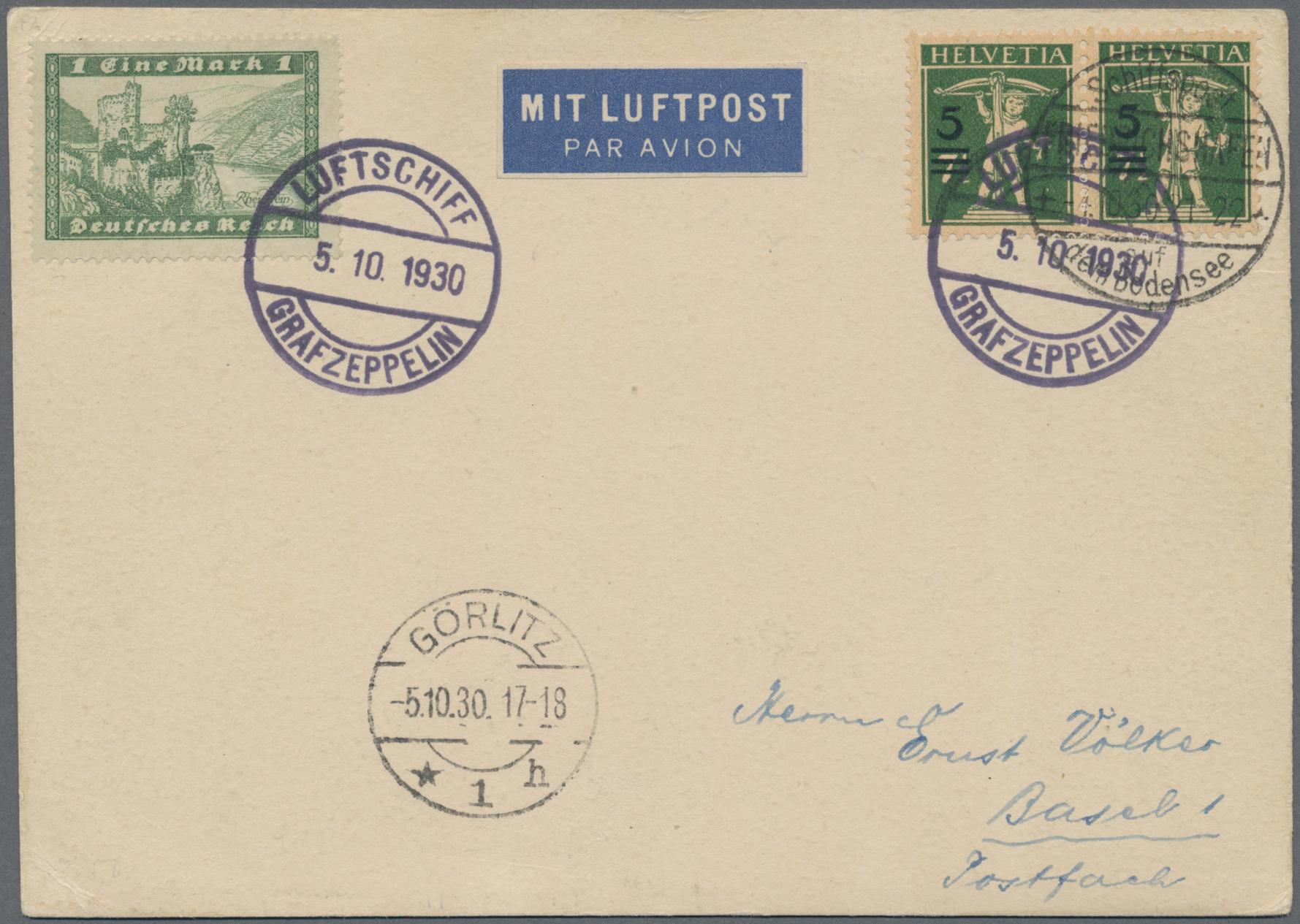 Lot 11751 - Deutsches Reich - Besonderheiten  -  Auktionshaus Christoph Gärtner GmbH & Co. KG 50th Auction Anniversary Auction - Day 4