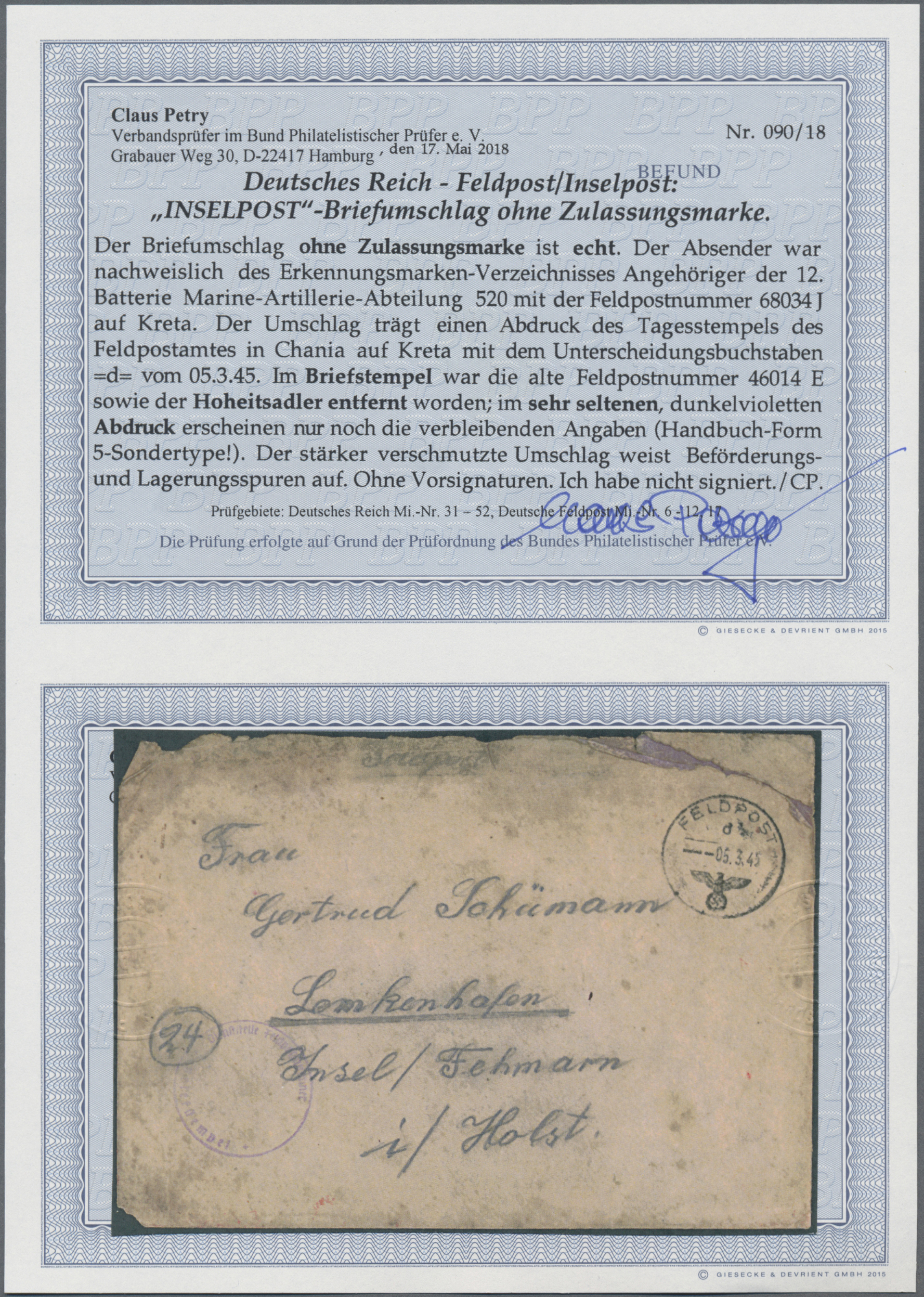 Lot 23929 - feldpost 2. weltkrieg  -  Auktionshaus Christoph Gärtner GmbH & Co. KG Sale #44 Germany, Picture Post cards