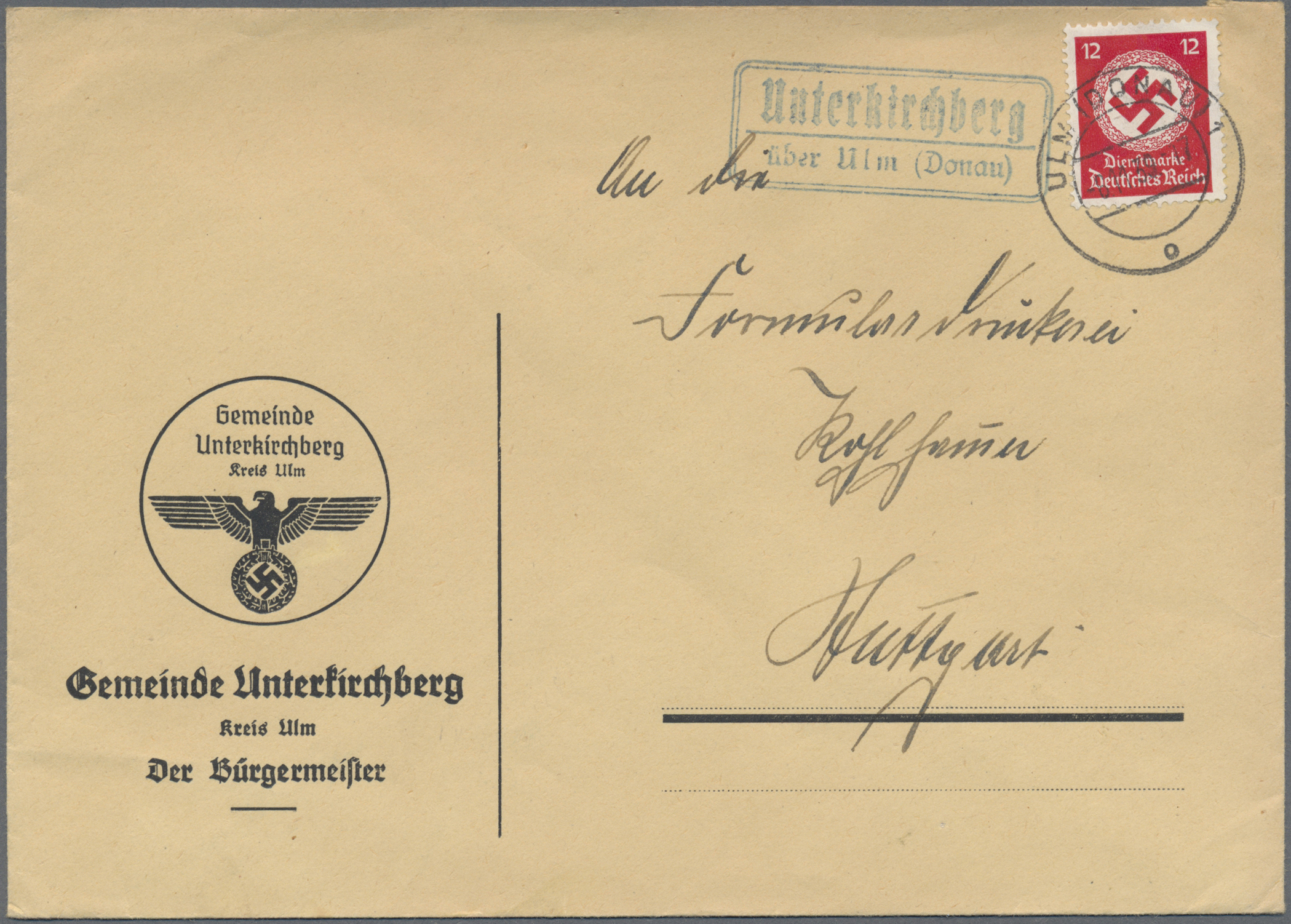 Lot 36582 - württemberg - stempel  -  Auktionshaus Christoph Gärtner GmbH & Co. KG Collections Germany,  Collections Supplement, Surprise boxes #39 Day 7