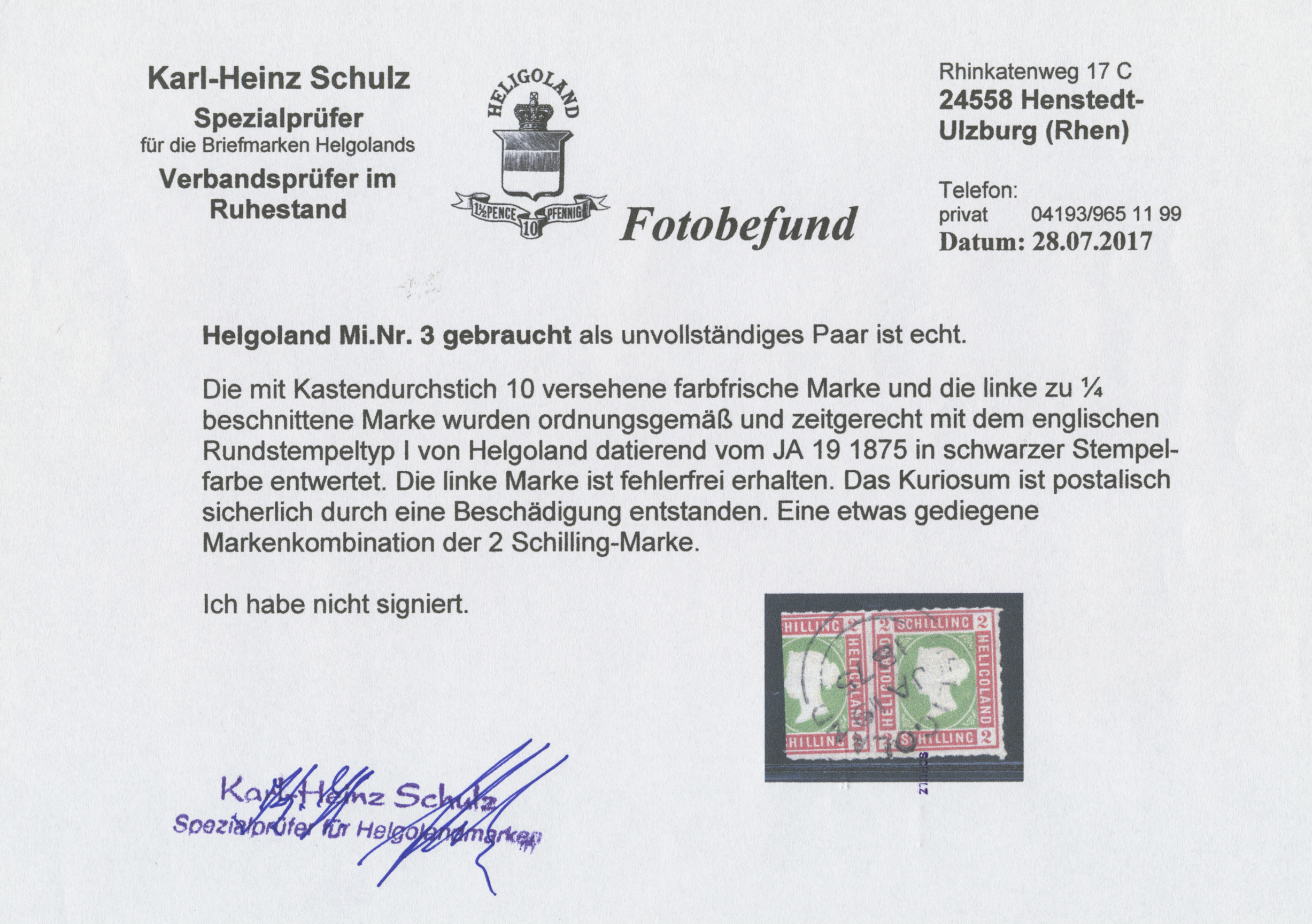 Lot 17318 - Helgoland - Marken und Briefe  -  Auktionshaus Christoph Gärtner GmbH & Co. KG Auction #40 Germany, Picture Post Cards, Collections Overseas, Thematics