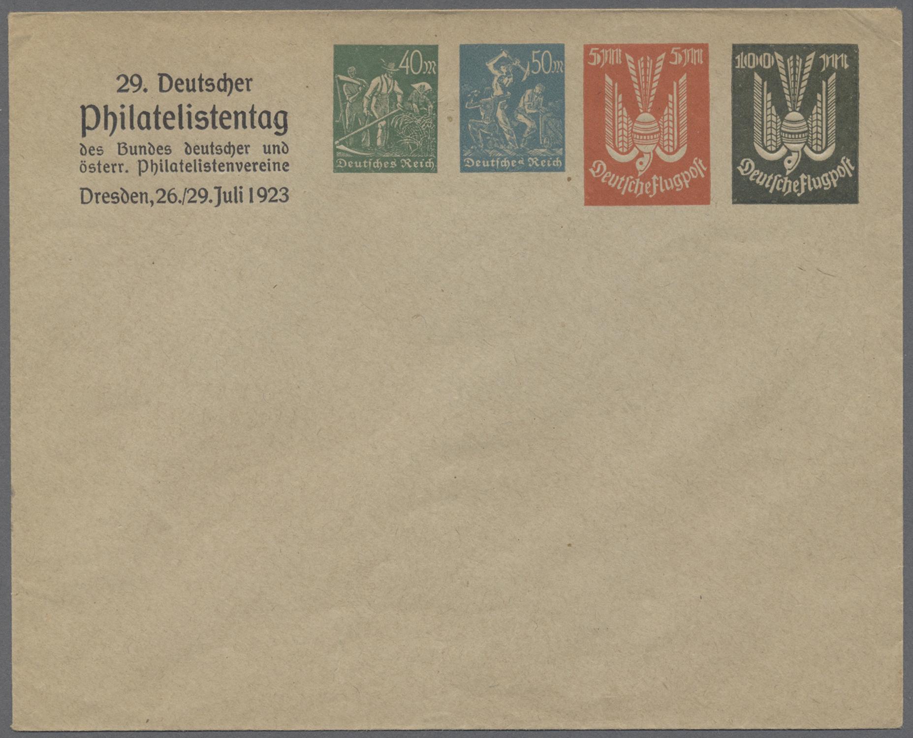 Lot 37135 - Deutsches Reich - Privatganzsachen  -  Auktionshaus Christoph Gärtner GmbH & Co. KG Collections Germany,  Collections Supplement, Surprise boxes #39 Day 7