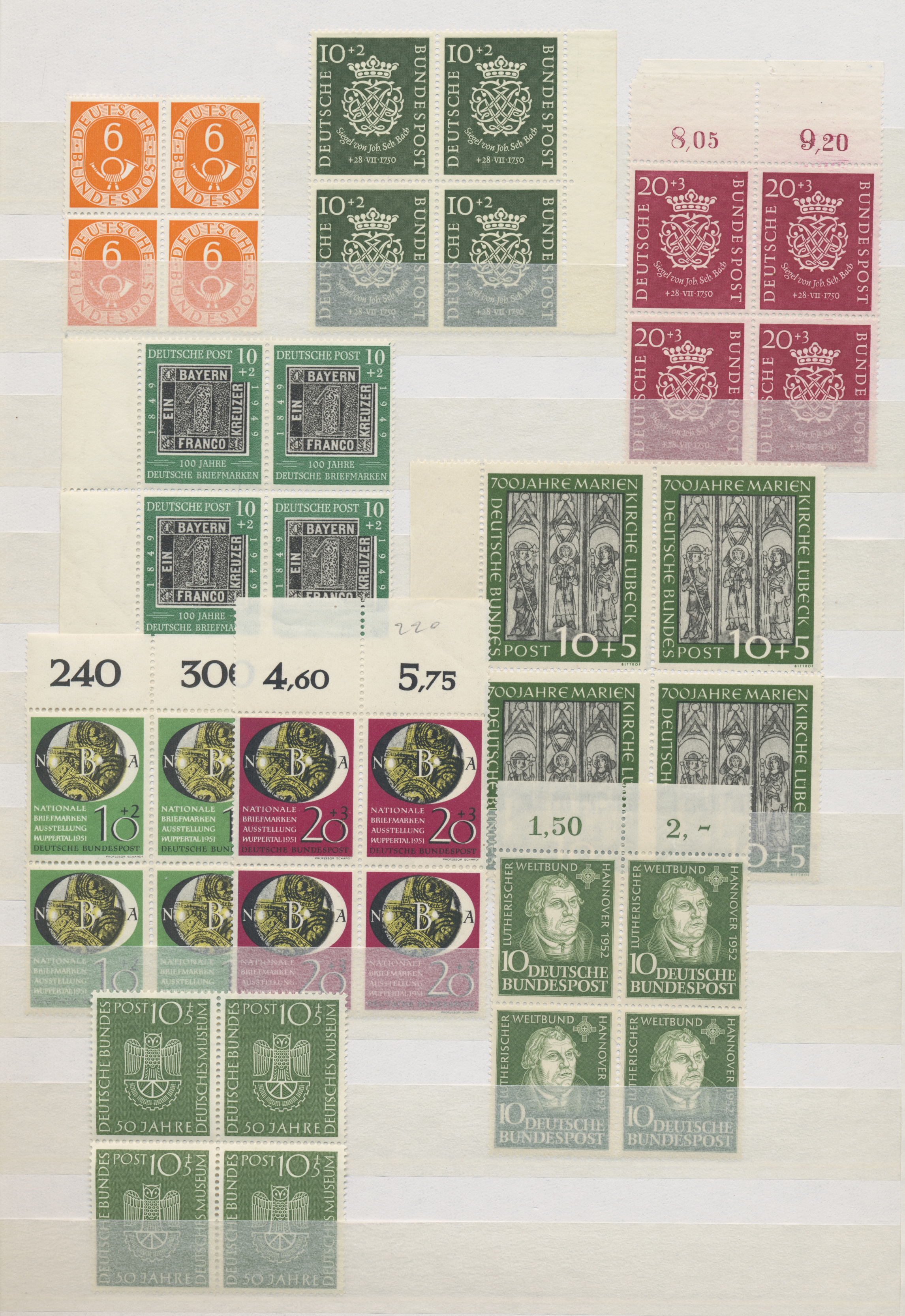 Lot 37558 - bundesrepublik deutschland  -  Auktionshaus Christoph Gärtner GmbH & Co. KG Sale #44 Collections Germany
