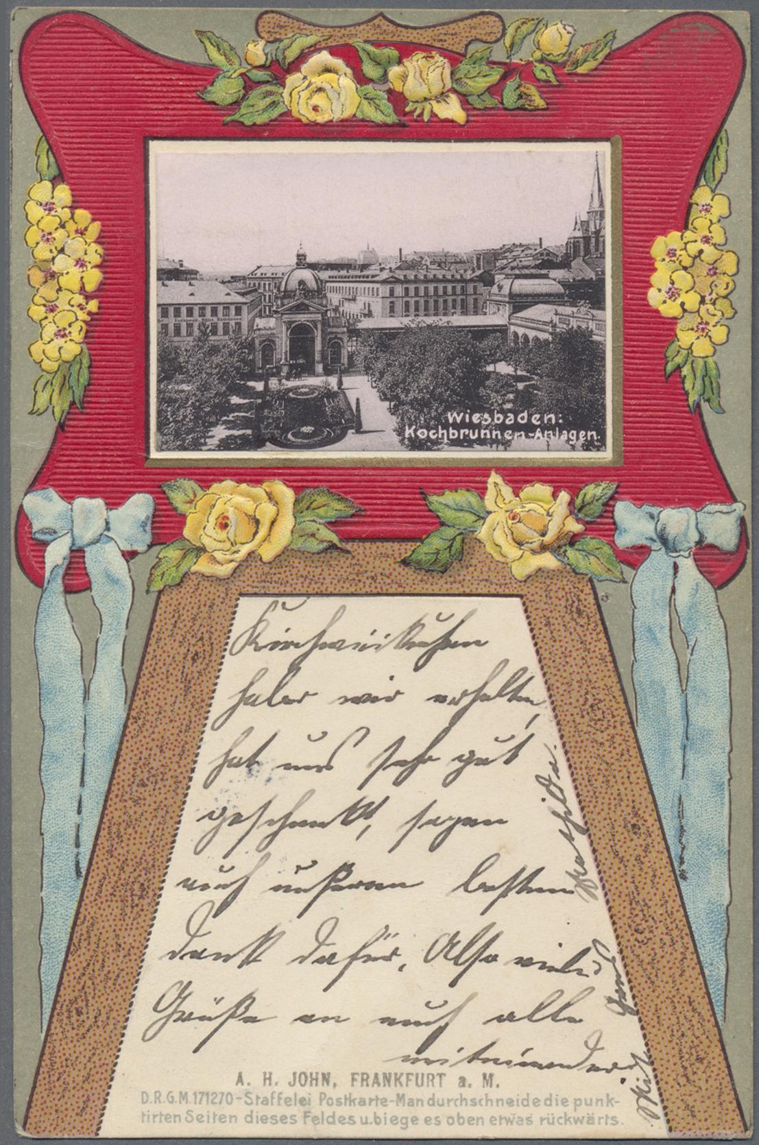 Lot 04548 - Ansichtskarten: Hessen  -  Auktionshaus Christoph Gärtner GmbH & Co. KG Sale #48 The Coins & The Picture Post Cards