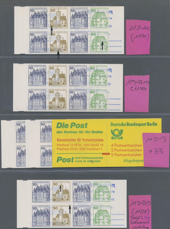 Lot 41647 - berlin - markenheftchen  -  Auktionshaus Christoph Gärtner GmbH & Co. KG Sale #43 Collection Peter Zgonc - German Occupations WWII | Day 7