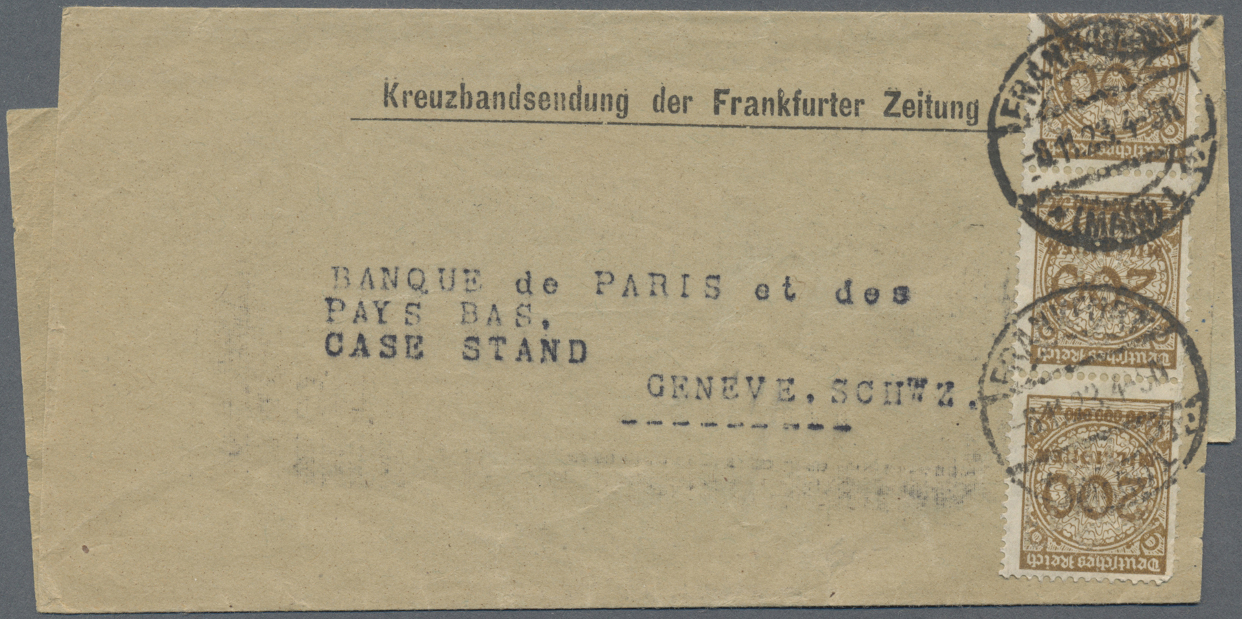Lot 36500 - Deutsches Reich  -  Auktionshaus Christoph Gärtner GmbH & Co. KG Sale #44 Collections Germany